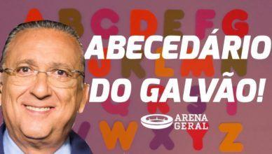 Arena Geral: Torcer é o nosso esporte! Abecedário do Galvão Bueno