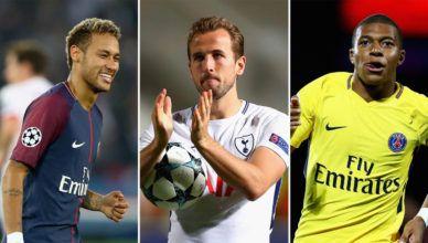 Os jogadores mais valiosos do mundo em 2018