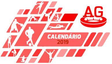 Calendário Esportivo 2019