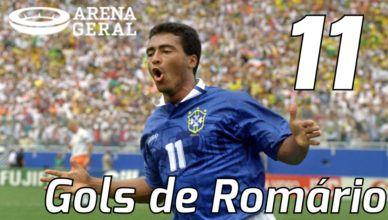Os 11 gols mais bonitos de Romário