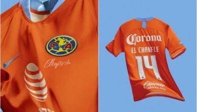 América do México homenageia Chespirito com seu 3º uniforme!