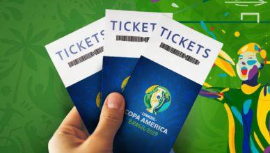 Começaram as vendas de ingressos da Copa América 2019!