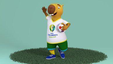 Os Mascotes da Copa América (+ o novo mascote de 2019)