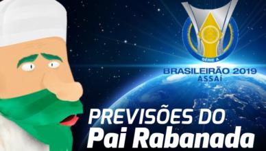 Previsão da 25ª rodada do Brasileirão 2019
