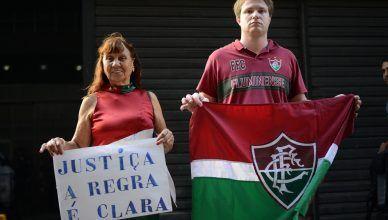 Fluminense não quer ser chamado de TAPETENSE