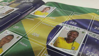 Complete seu álbum da Copa do Mundo feminina com quem foi convocada depois!