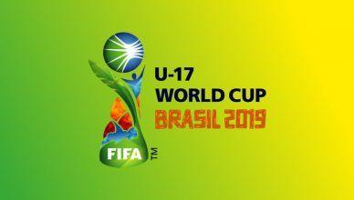 Mundial Sub-17 masculino de 2019 será no Brasil!