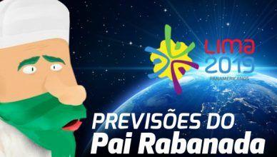 Previsão dos Jogos Pan americanos 2019