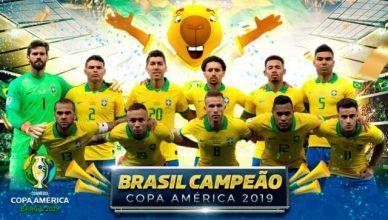 Foto Placar Copa América 2019