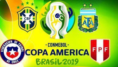 Análise Semifinais Copa América 2019