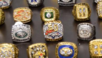Os anéis do Super Bowl