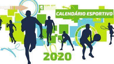 Calendário Esportivo 2020